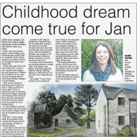 Chester ChronicePR Coverage by Bare Bones Marketing for Rivercatcher Jens Childhood Dream