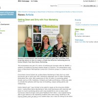 PR Coverage for Bare Bones Marketing at MMU