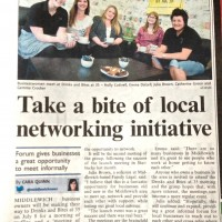 Bare Bones Marketing PR Coverage Networking Middlewich Guardian 26:06:2013