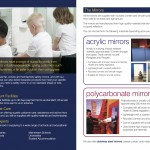 Safety Mirror Direct Mail Leaflet for CS Mirrors by Bare Bones Marketing