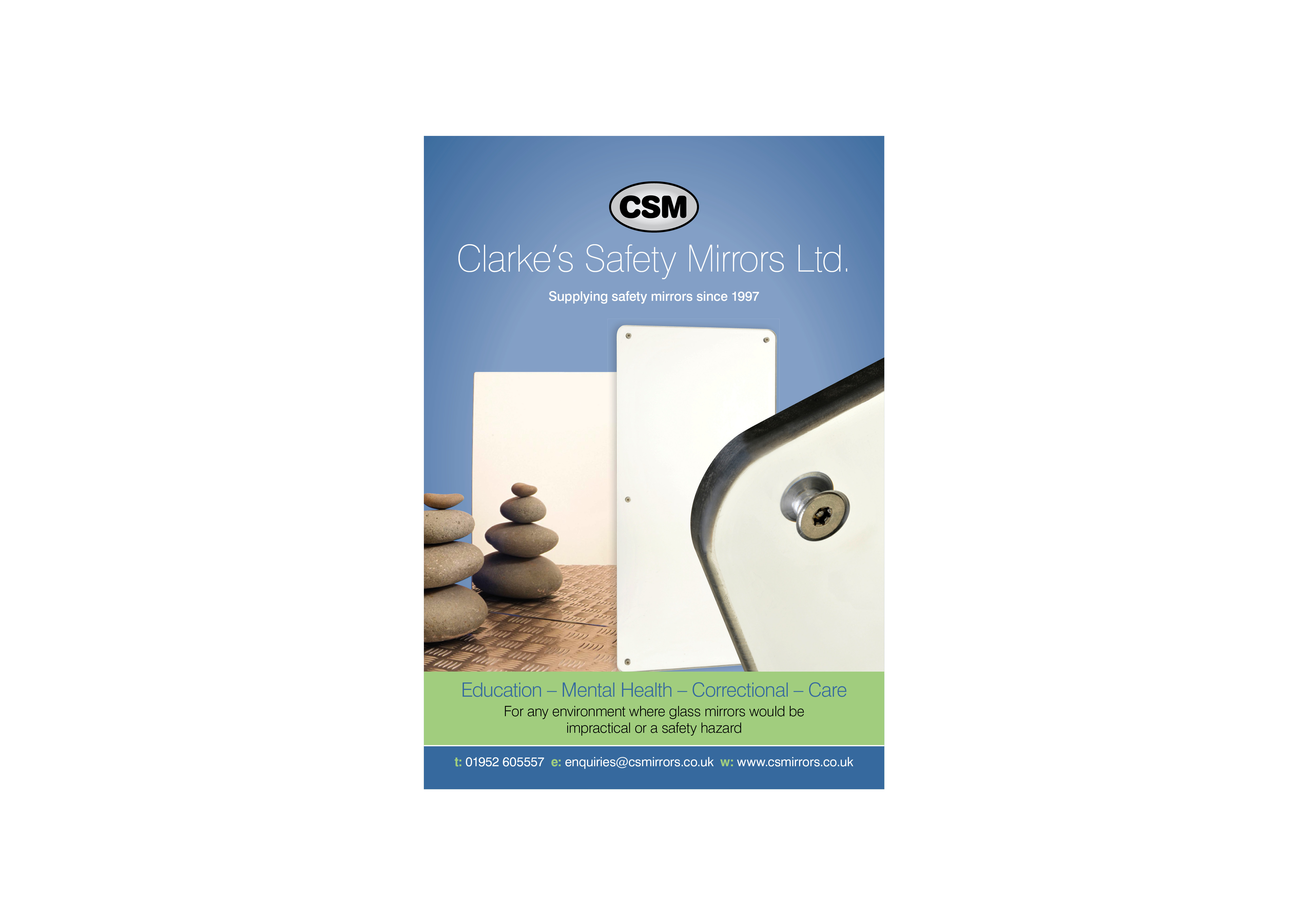 Trade Publication for CS Mirrors by Bare Bones Marketing