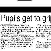 Mandarin South Warrington News