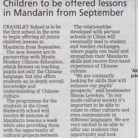 Northwich Guardian Mandarin Coverage