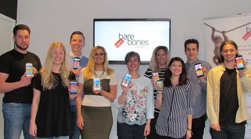 bares bones marketing with fab app